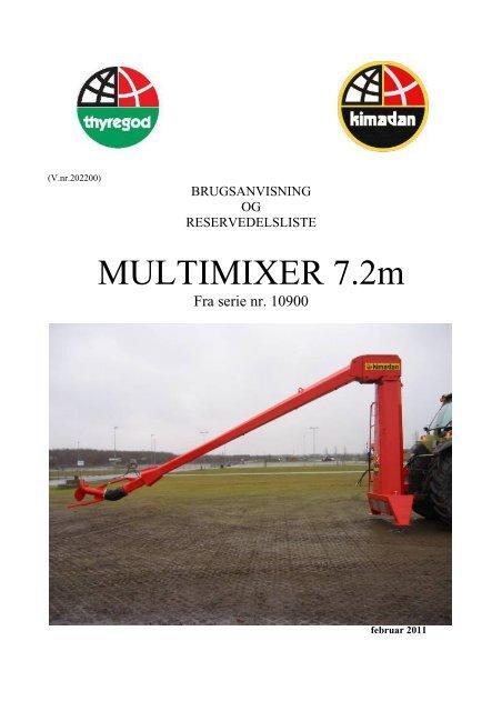 Multi mixer - Thyregod A/S