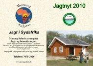 Jagt nyt 2010 - Hedensted St. Dalby Jagtforening