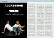 Aggression vrede - Kamp og Kultur