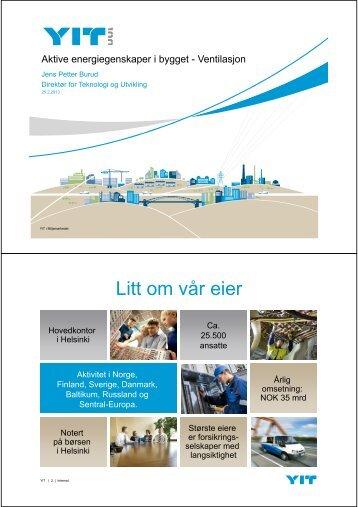 Ventilasjon - Norges Bygg- og Eiendomsforening