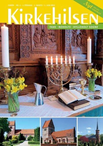 FAXE · ROHOLTE · HYLLEHOLT SOGNE - Velkommen i Faxe Kirke