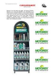 Motorex er en olie fabrik som ligger i - Honda All-road Touring mc'er