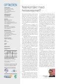 Nærkontakt med helsevesenet? - Norges Optikerforbund - Page 4
