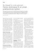 Nærkontakt med helsevesenet? - Norges Optikerforbund - Page 6