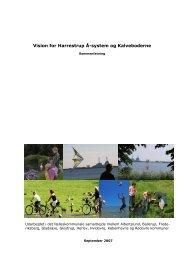 Vision for Harrestrup Å-system og Kalveboderne - Hvidovre Forsyning