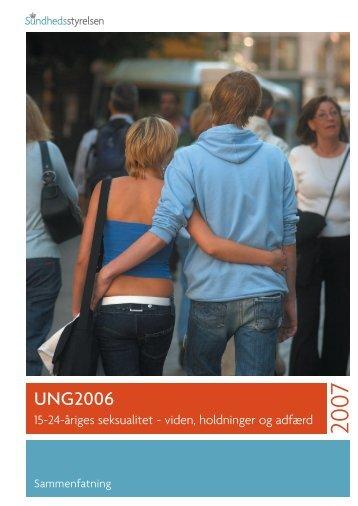 Ung2006 - Sundhedsstyrelsen