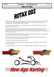Tekniske Specifikationer ROTAX DD2