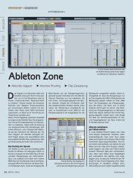 Ableton Zone - MUSIC STORE professional