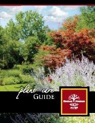 2007 Plant Care Guide - Hinsdale Nurseries