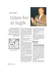 Uden for al logik - Dansk Skak Union