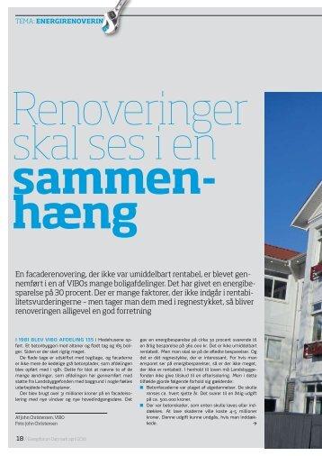 En facaderenovering, der ikke var umiddelbart rentabel, er blevet ...