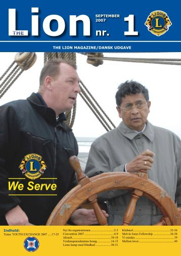 We Serve - Lions Danmark