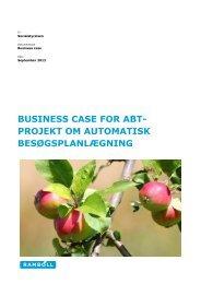 business case for abt- projekt om automatisk ... - Servicestyrelsen