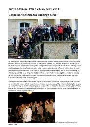 Læs mere om Ashiras tur til Koszalin - Gladsaxe Kommune