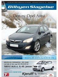 Den ny Opel Astra - Bilbyen Slagelse