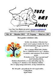 Oktober 2012 - Tuse Næs Bladet