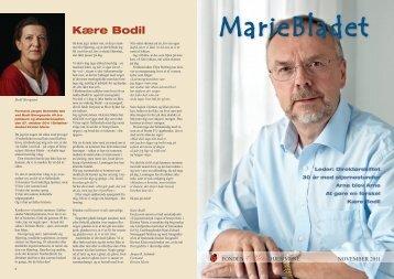 Mariebladet november 2011 - Mariehjemmene