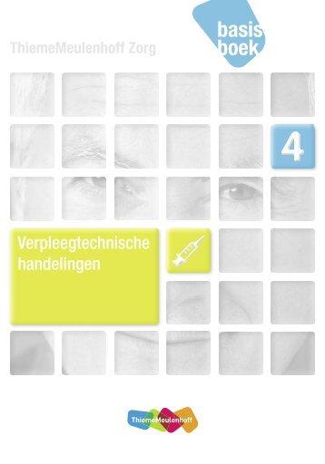 Verpleegtechnische handelingen - ThiemeMeulenhoff