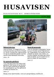 Juni 2012 (2).pub (Skrivebeskyttet) - Plejecenter Sct. Jørgensbjerg