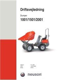 Brugervejledning - AL Del-Pin A/S