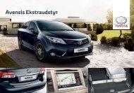Avensis Ekstraudstyr - Bil og co