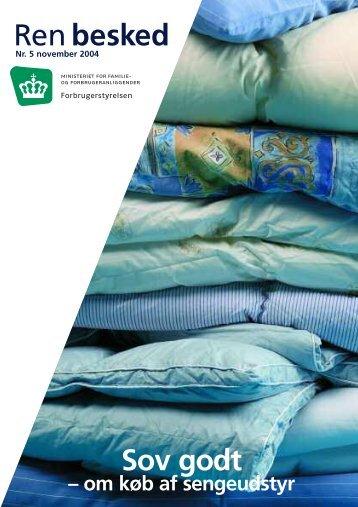 Sov godt – om køb af sengeudstyr