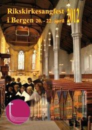 Stevnehefte RK12.pdf - Norges kirkesangforbund