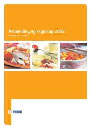 Årsmelding og regnskap 2002 - Nortura