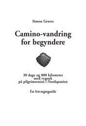 Camino-vandring for begyndere - Simon Graves