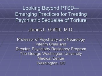 "2) ""Looking Beyond PTSD – Emerging Practices for Treating ..."