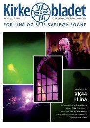 Kirkebladet 2007/08 nr. 4/1 - Linå kirke