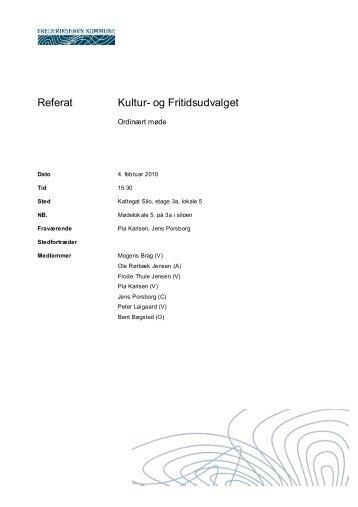 2010-02-04 Kultur- og Fritidsudvalget åbent referat.pdf