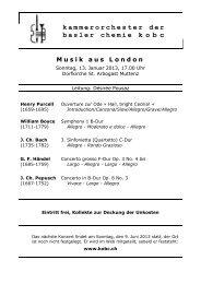 Programmheft programm-13-01.pdf - Kammerorchester der Basler ...