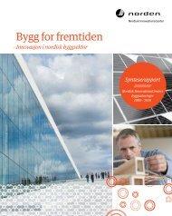 Bygg for fremtiden - Nordic Innovation