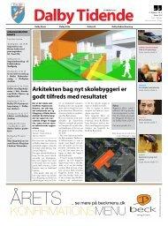 KONFIRMATIONSMENU - Dalby Skole - Kolding Kommune