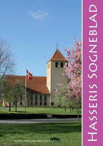 Marts, April og Maj 2013 . Årgang 57 - Hasseris Kirke