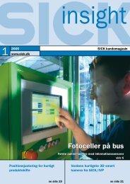 Fotoceller på bus Fotoceller på bus - SICK