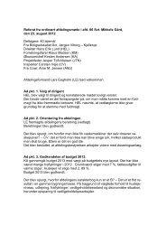 Referat fra afdelingsmøde for Mikkelsgården - Boligselskabet Sct ...