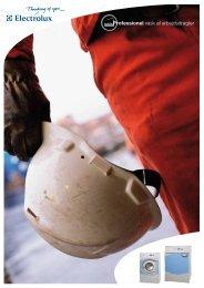 Se vores special brochurer om professionel vask af arbejds