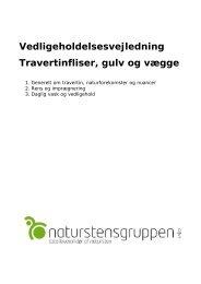Travertinfliser - Naturstensgruppen A/S