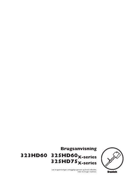 OM, 323 HD60, 325 HD60 X-series, 325 HD75 X-series ... - Husqvarna