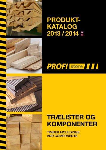 trælister og komponenter produkt- katalog 2013 / 2014 - Termotræ
