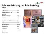 Købmandsskab og butiksindretning - Emu