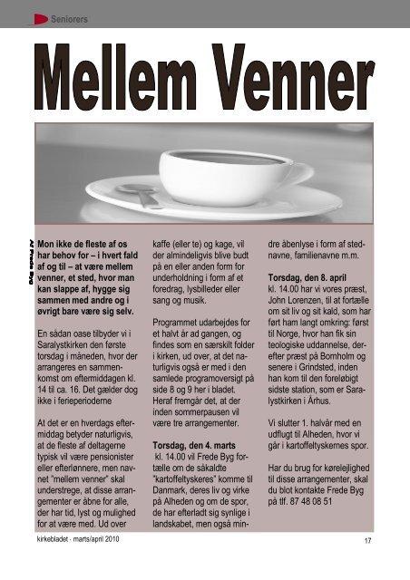 Kirkeblad, marts 2010 - 20 sider med buer.pdf - Saralystkirken