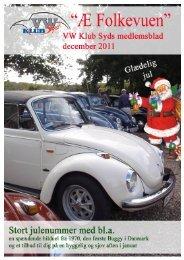 Æ' Folkevuen December 2011 - VW klub syd