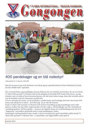 400 pandekager og en blå rodeotyr! - Odense Y's Men's Club
