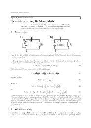 Transienter og RC-kredsløb