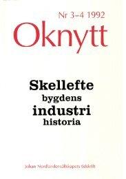 Nr. 3-4 1992 - Johan Nordlander sällskapet