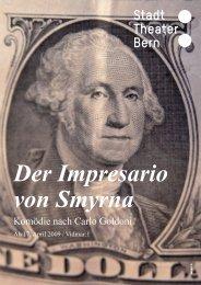 Der Impresario von Smyrna - Konzert Theater Bern