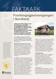 Fredningsgjennomgangen i Nordland - Riksantikvaren